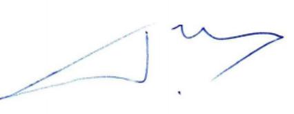 Signature Frédéric BLANCPAIN - Président de l'association des anciens élèves