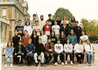 Photo de classe 1996/1997