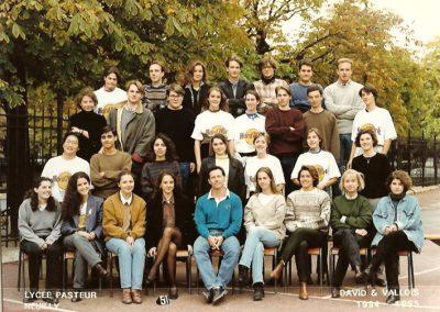 Photo de classe 1994/1995